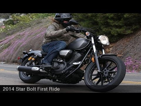 2014 Star Bolt First Ride - MotoUSA
