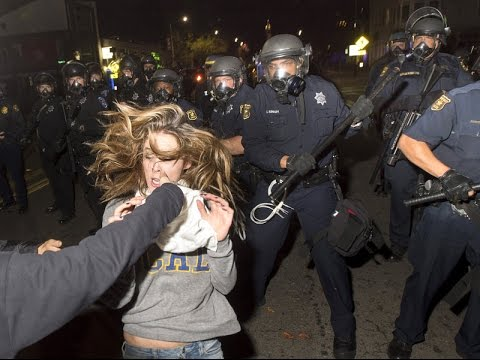 Protesters Go Wild in Berkeley California