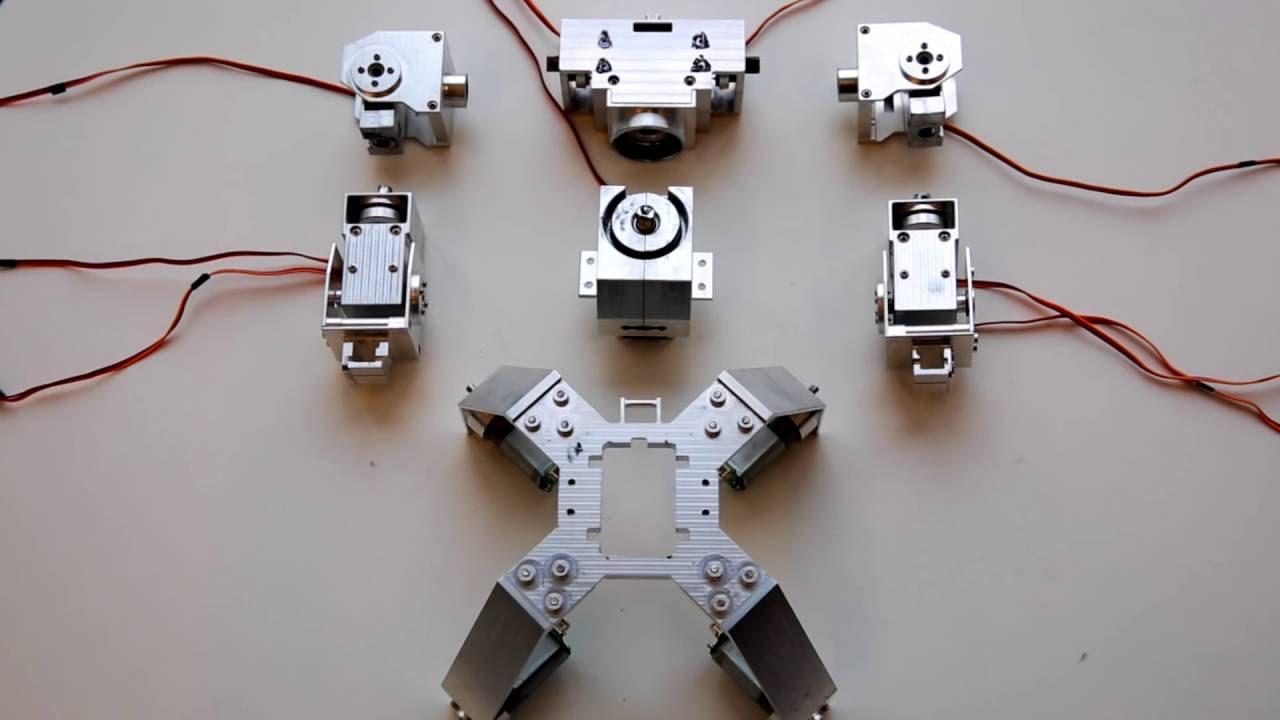 Робот ганкер своими руками 38