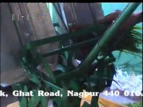 Demo of Hand Operated Rice transplanter