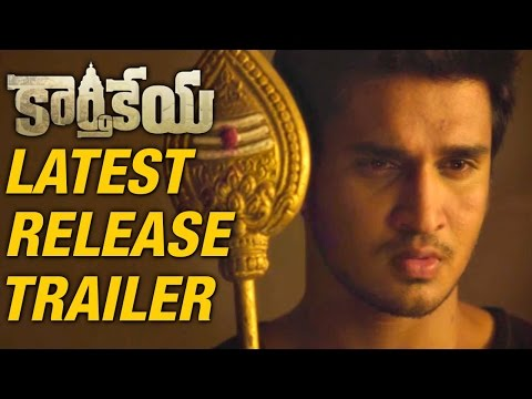 Karthikeya Movie Release Trailers - Latest Trailer - Nikhil, Swathi, Rao Ramesh