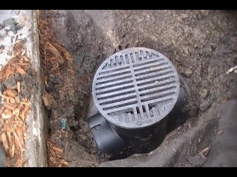 Clean This Drain Save 1000 S French Drain Downspout