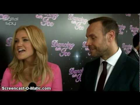 Ashley Roberts Interview at the Dancing On Ice UK Press Launch (Digital Spy)