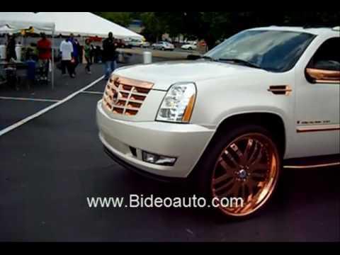 Camionetas Escalade de super lujo - YouTube