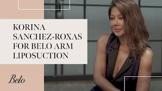 Korina Sanchez-Roxas for Belo Arm Liposuction   Belo Medical Group