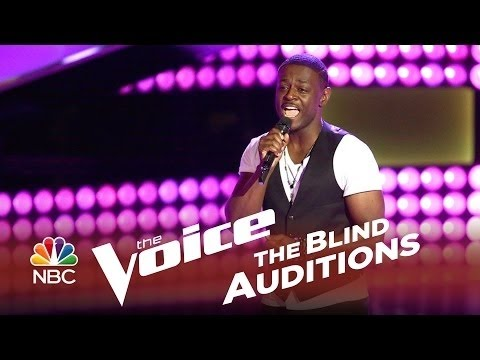 """The Voice 2014 - Damien Lawson: """"It's So Hard To Say Goodbye To Yesterday"""""""