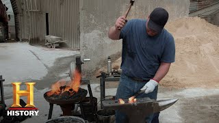 Forged in Fire: The Coal Forge Challenge (Season 5, Episode 9) | History