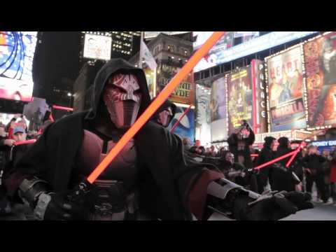 Star Wars: The Old Republic - Times Square Freeze Mob