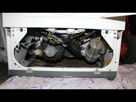reparatur waschmaschine miele w407 lagerschaden part2. Black Bedroom Furniture Sets. Home Design Ideas