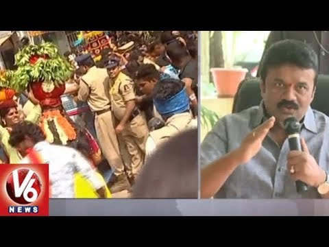 Minister Talasani Srinivas Yadav Reacts On Ujjaini Mahankali Temple Arrangements | V6 News