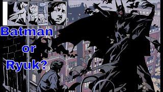 Is This Deathnote Manga Or A Batman Comic Book