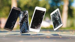 Ultimate iPhone 6 & iPhone 6 Plus Drop Test! (vs Samsung Galaxy S5 & HTC One M8)