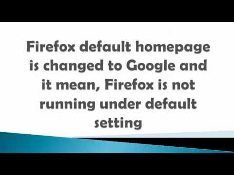 How to reset firefox browser setting to default