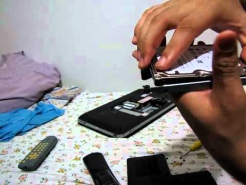 Como retirar e trocar HD do notebook HP dv6 3080br e 3090br