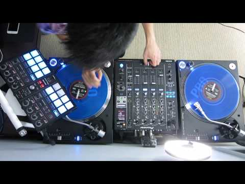 Melbourne Bounce Scratch Session on Pioneer PLX-1000s