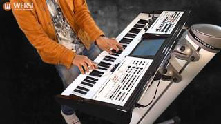 WERSI Pegasus Wing Professional Keyboard Demo