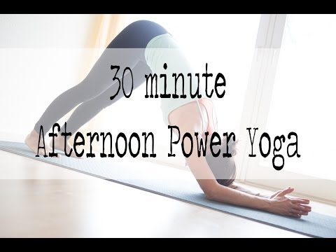 30 minute afternoon power yoga Image 1