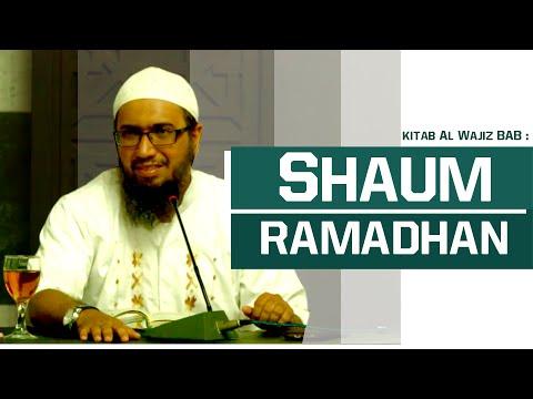 Kitab Al-Wajiz - Bab Ramadhan Ustad Azhar Khalid