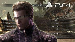 Village NO MERCY 2397k Midnight Wesker | Resident Evil 5 PS4 Mercenaries United