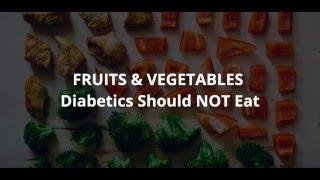 WORST Foods For Diabetics