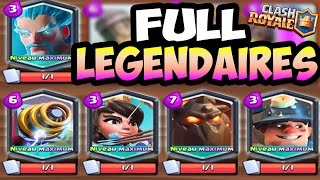 Clash Royale DEFI Full Cartes Legendaires FarsAttack vs BFA !