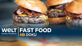 Fast Food: Burger King vs. Street Food Hamburger | Doku
