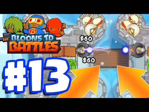 PERFECT COPY CAT BATTLE! THIS WAS AMAZING! | Bloons TD Battles Gameplay Part 13 (BTD Battles)