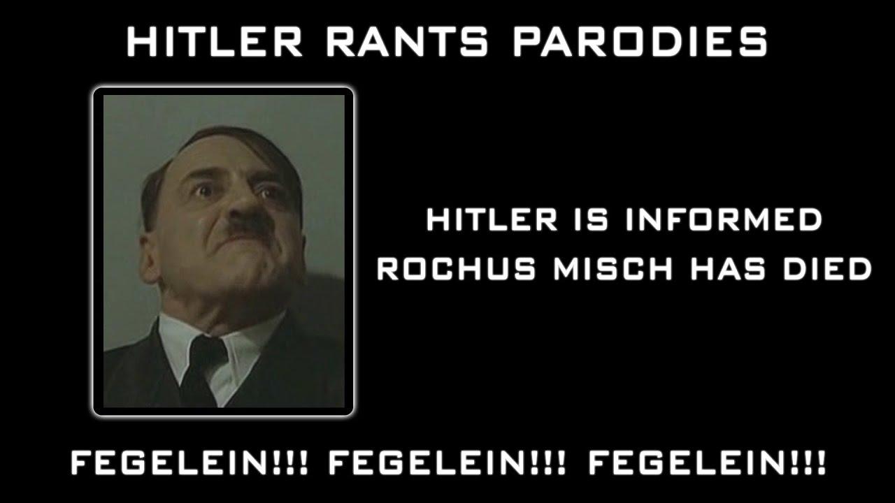 Hitler is informed Rochus Misch has died