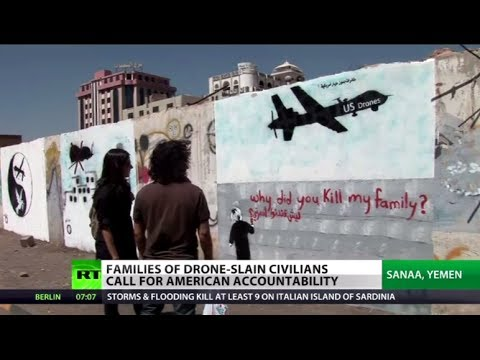 'Why you kill my family?' Civilian Yemeni drone victims call US to account