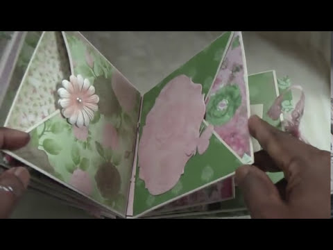 Cardstock mini album