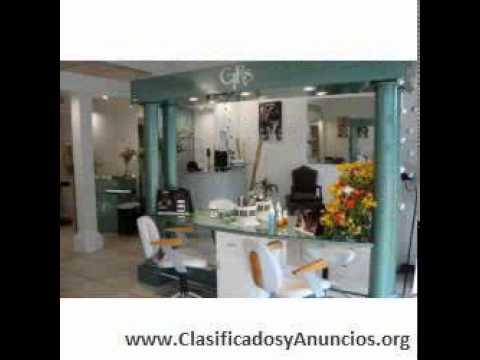 Salon de belleza peluqueria estetica fondo de co youtube - Tipos de estores para salon ...