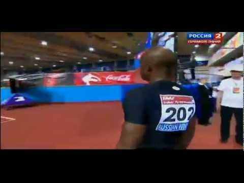 2013 IAAF Russian Winter men 60m dash