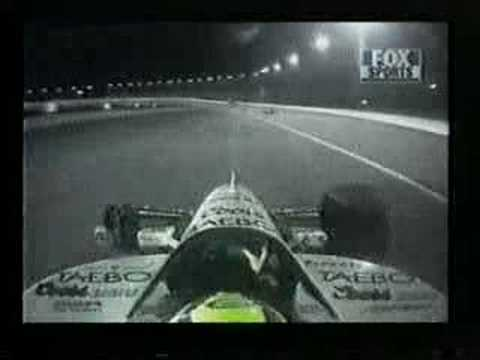 Very funny! - IndyCar - Buddy Lazier loses wheel Video
