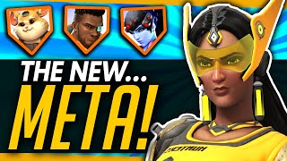 Overwatch | How The Pros Are DESTROYING The Meta! - Symmetra Flying Bunker, Triple DPS and More!