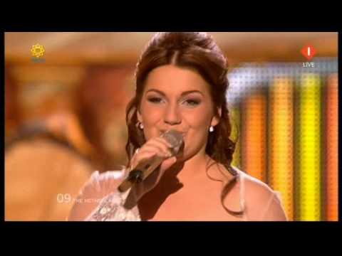 Sieneke - Ik ben verliefd (Sha-La-Lie) Eurovisie Songfestival Oslo 2010