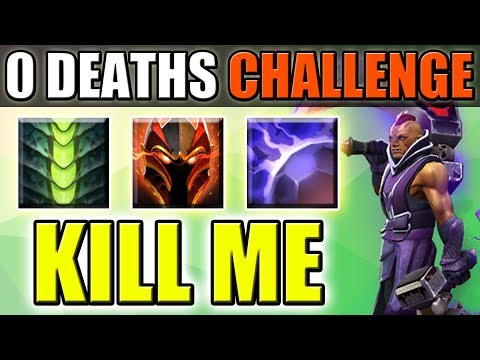 Triple Passive Full Tank Build [0 Deaths Challenge] Dota 2 Ability Draft