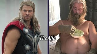 Avengers Endgame Characters at 80 Years Old