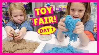 Our First Day at the 2018 Toy Fair in New York !!!