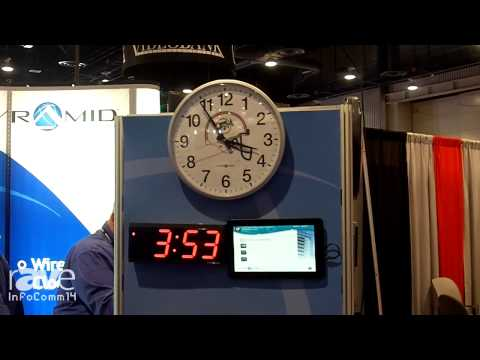 InfoComm 2014: Pyramid Showcases RF Secondary Transmitters and Traditional POE Clocks