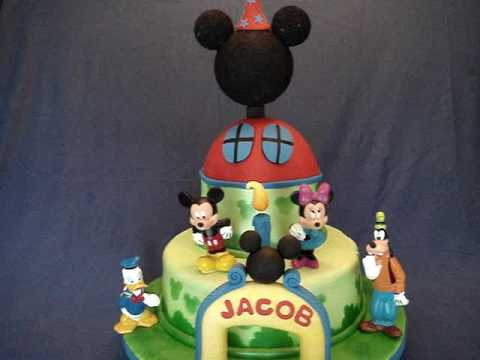 Mickey Mouse Clubhouse House Cakes Mickey Mouse Clubhouse Fondant