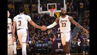 LeBron James and Anthony Davis Combine for 82 Points In Victory vs. Timberwolves