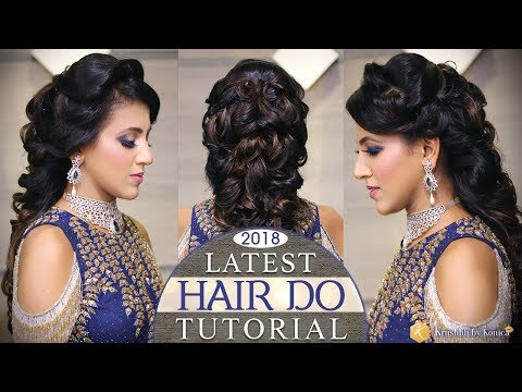 Quick & Easy Hair Do Tutorial | Step by Step Hairstyle Tutorial with MESSY CURLS | Krushhh by Konica