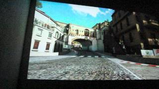 Acer C20 Mini LED-Projector Xbox360 playing