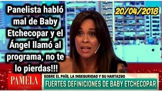 UNA PANELISTA CRITICABA A BABY ETCHECOPAR Y MIRA LO QUE PASÓ