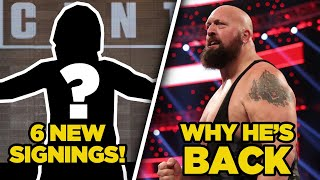 6 New WWE Signings Confirmed, Real Reason Big Show Returned