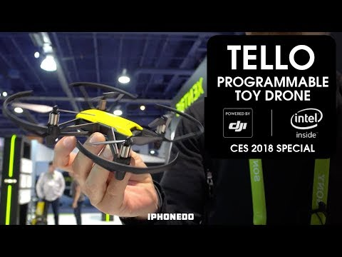 Programmable Toy Drone: Tello — Powered by DJI and INTEL [CES 2018 Special]