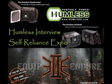 Humless Interview Dallas Self Reliance Expo, Equip 2 Endure