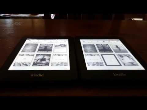 Kindle Paperwhite 2013 Vs. 2012 Paperwhite