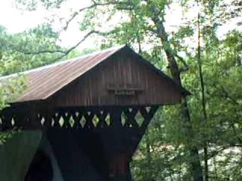 Swann Covered Bridge Blount County Alabama
