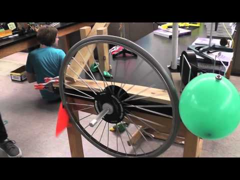 Rube Goldberg Machine AP Physics 2013